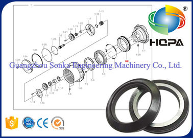 Excavator Parts Rotary Oil Seal K9003721 , Hydraulic Motor Seal Kits Eco Friendly